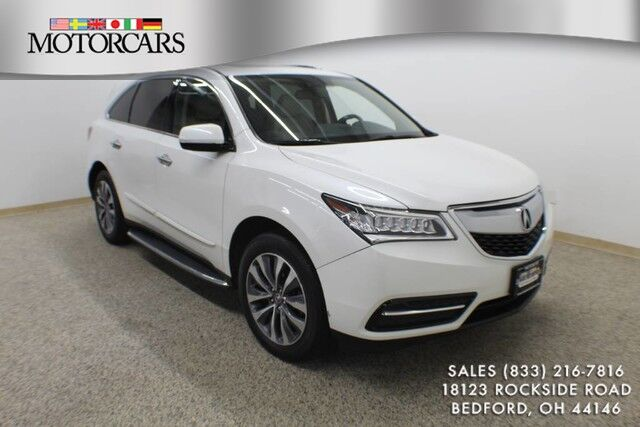 2014 Acura MDX Tech Pkg Bedford OH