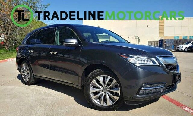 2014 Acura MDX Tech Pkg LEATHER, NAVIGATION, SUNROOF, AND MUCH MORE!!! CARROLLTON TX