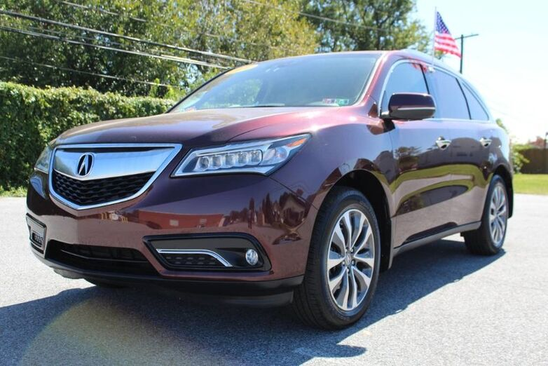 2014 Acura MDX Tech Pkg New Castle DE