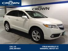 2014_Acura_RDX_AWD TECH PKG - *No accidents/One owner*_ Winnipeg MB