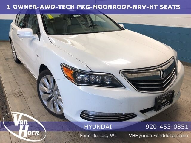 2014 Acura RLX Sport Hybrid Technology Package Milwaukee WI