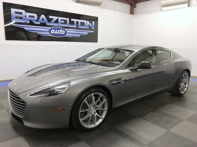2014 Aston Martin Rapide S Carbon Pack, 20in 10-Spoke Wheels, Built-in K40 Radar Detector, $222k MSRP Houston TX