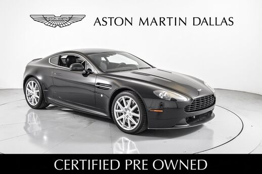2014 Aston Martin V8 Vantage MANUAL Dallas TX