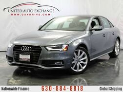 2014_Audi_A4_2.0L Turbocharged Engine AWD Premium S-Line w/ Power Glass Sunro_ Addison IL