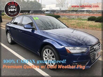 2014_Audi_A4_Premium Quattro_ Arlington VA