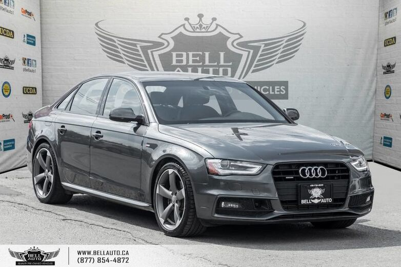 2014 Audi A4 Technik, NO ACCIDENT, NAVI, BACK-UP CAM, SUNROOF Toronto ON