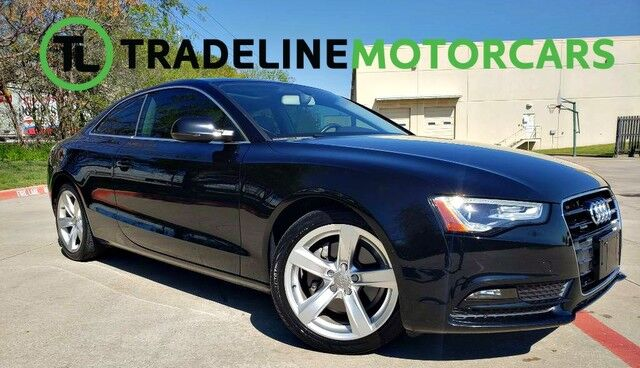 2014 Audi A5 Premium LEATHER, NAVIGATION, SUNROOF, AND MUCH MORE!!! CARROLLTON TX