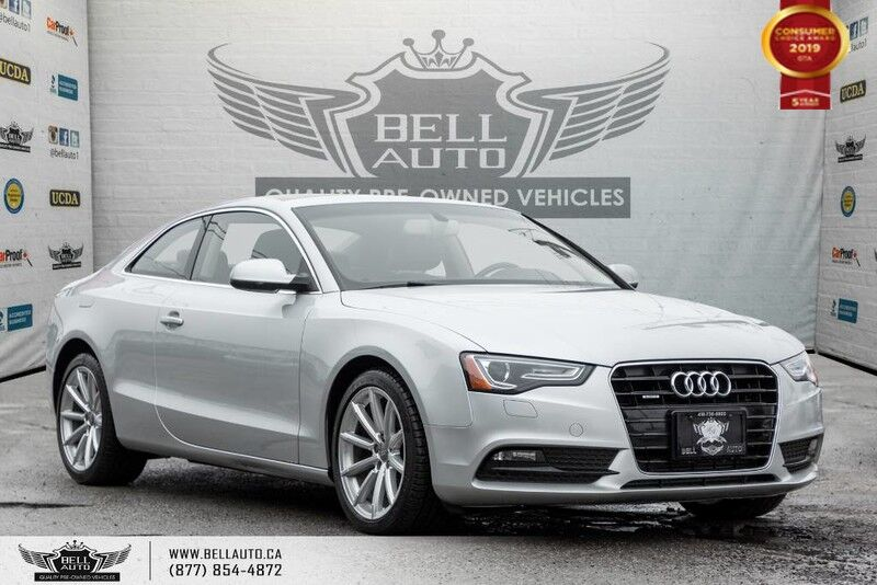 2014 Audi A5 Progressiv, NAVI, SUNROOF, LEATHER, BLUETOOTH, A/C, HEATED SEATS
