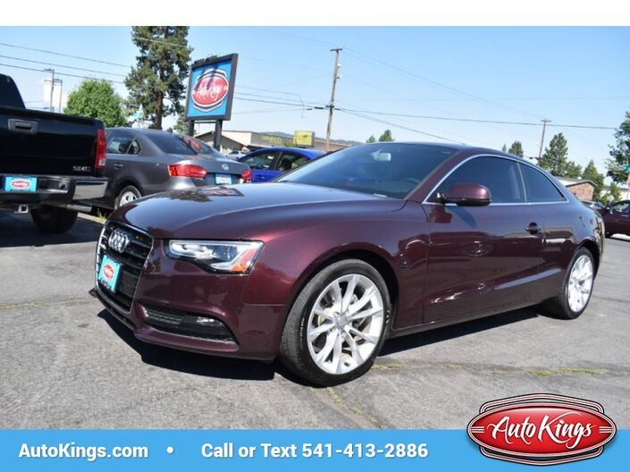 2014 Audi A5 Quattro 2.0T Premium Coupe Bend OR