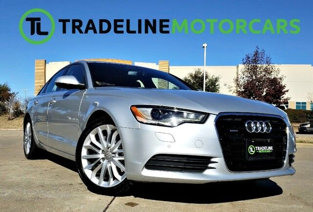 2014 Audi A6 2.0T Premium Plus NAVIGATION, SUNROOF, LEATHER, AND MUCH MORE!!! CARROLLTON TX