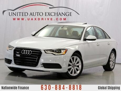 2014 Audi A6 2.0T Premium Plus Quattro AWD - Navi - Back Up Cam - Cold Weather Package - Audi Multimedia - Sunroof Addison IL