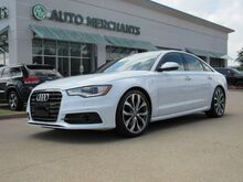 2014_Audi_A6_3.0 TDI PRESTIGE quattro Tiptronic LEATHER, NAVIGATION, SUNROOF, HTD/CLD FRONT STS, FRT/BCK CAMERAS_ Plano TX