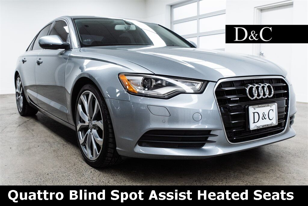 2014 Audi A6 3.0 TDI Premium Plus quattro Blind Spot Assist Heated Seats Portland OR