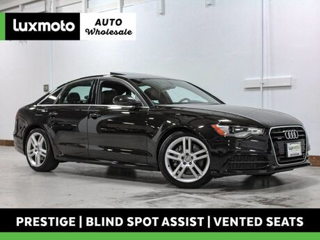 2014 Audi A6 3.0L TDI Prestige Vented Seats Blind Spot Assist Portland OR