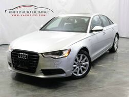 2014_Audi_A6_3.0T Premium Plus / 3.0L V6 Engine / AWD Quattro / Sunroof / Navigation / Bluetooth / Bose Premium Sound System / Parking Aid with Rear View Camera_ Addison IL