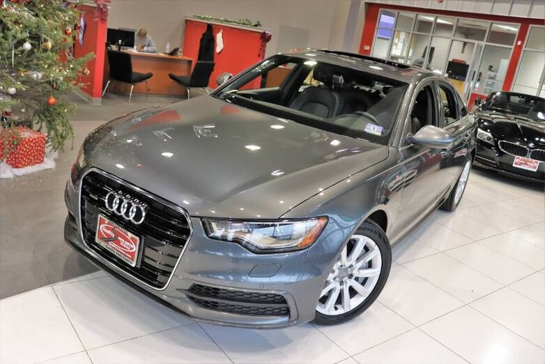 2014 Audi A6 3.0T Prestige Navigation Sunroof 1 Owner Springfield NJ
