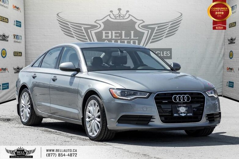 2014 Audi A6 3.0T Technik, NAVI, 360 CAM, BLIND SPOT, PUSH START, SUNROOF Toronto ON