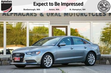 2014_Audi_A6_quattro TDI Premium Plus_ Boxborough MA