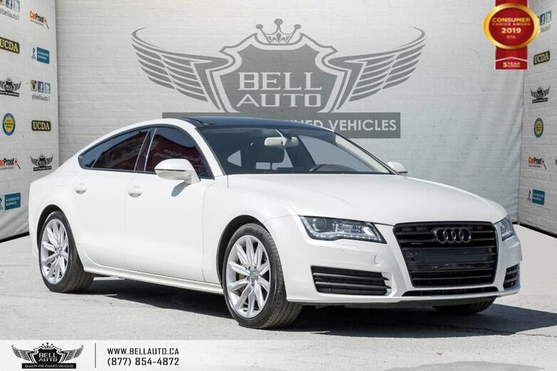 2014 Audi A7 3.0T Progressiv, AWD, SENSORS, SUNROOF, PUSH START, SOLD Toronto ON