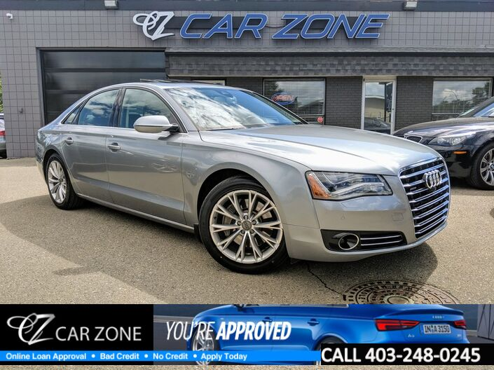 2014 Audi A8 3.0T ALL WHEEL DRIVE EASY LOANS Calgary AB