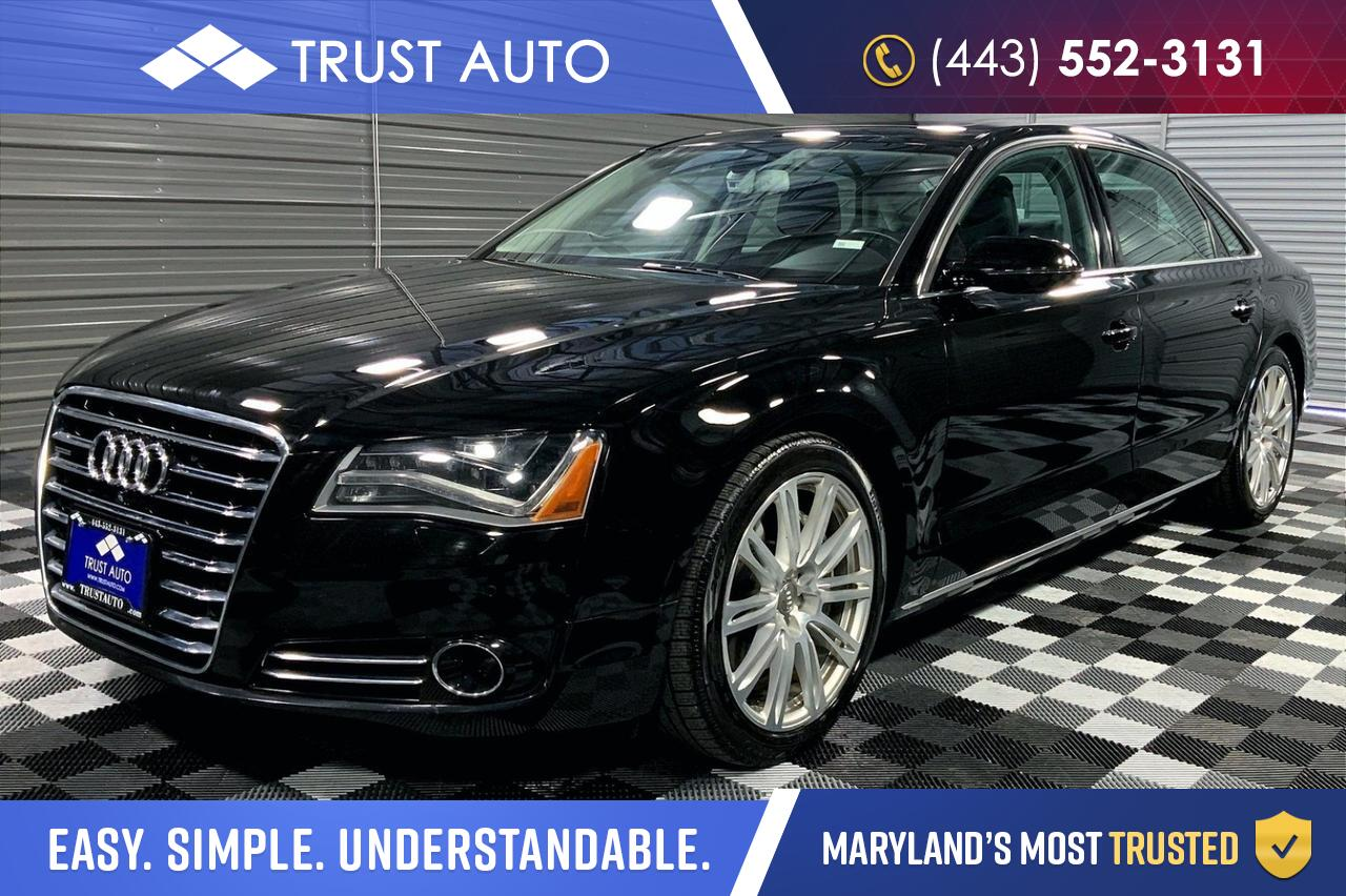 2014 Audi A8 L 3.0L TDI Quattro AWD Luxury Sedan Sykesville MD