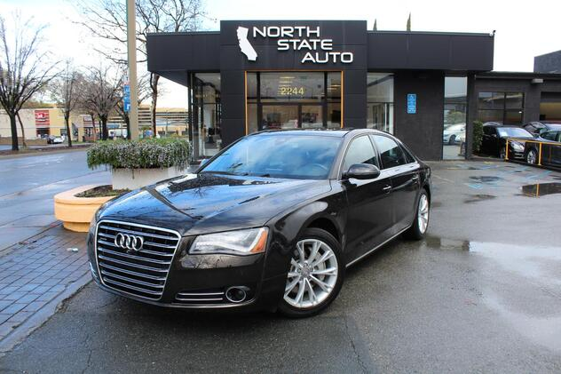 2014_Audi_A8 L_3.0L TDI_ Walnut Creek CA