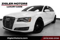 2014_Audi_A8 L_3.0T LWB AWD Sport Plus Package Panoramic Roof Driver Assist_ Addison TX