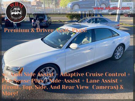 2014_Audi_A8_L 3.0T w/ Premium Package_ Arlington VA