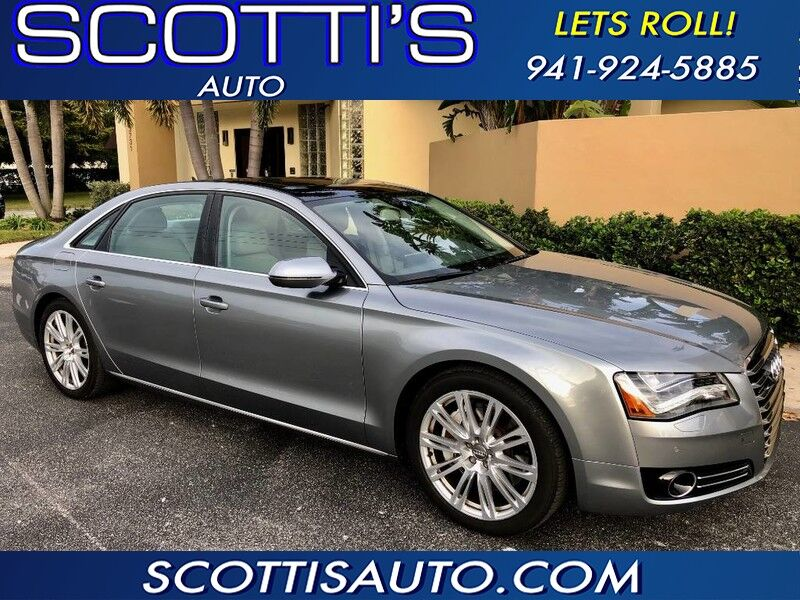 2014 Audi A8 L 4.0T 1-OWNER! CELAN CARFAX! LONG WHEEL BASE! NICE!