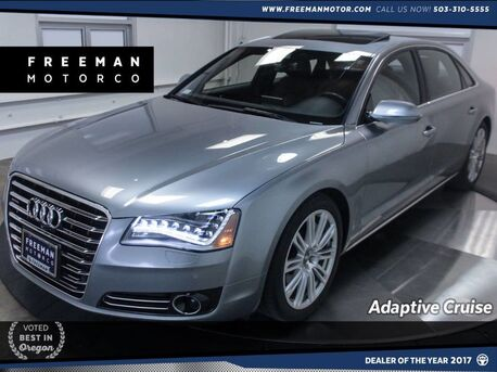 2014_Audi_A8 L_4.0T Quattro Adaptive Cruise Top View Cam_ Portland OR