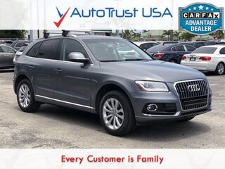 Audi Q5 2.0T Premium QUATTRO LEATHER PREM PKG LIGHT PKG BLUETOOTH 2014