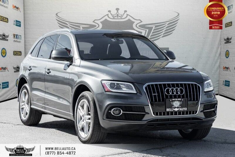 2014 Audi Q5 3.0L TDI Progressiv, S-LINE, AWD, NO ACCIDENT, DIESEL, PANO ROOF Toronto ON