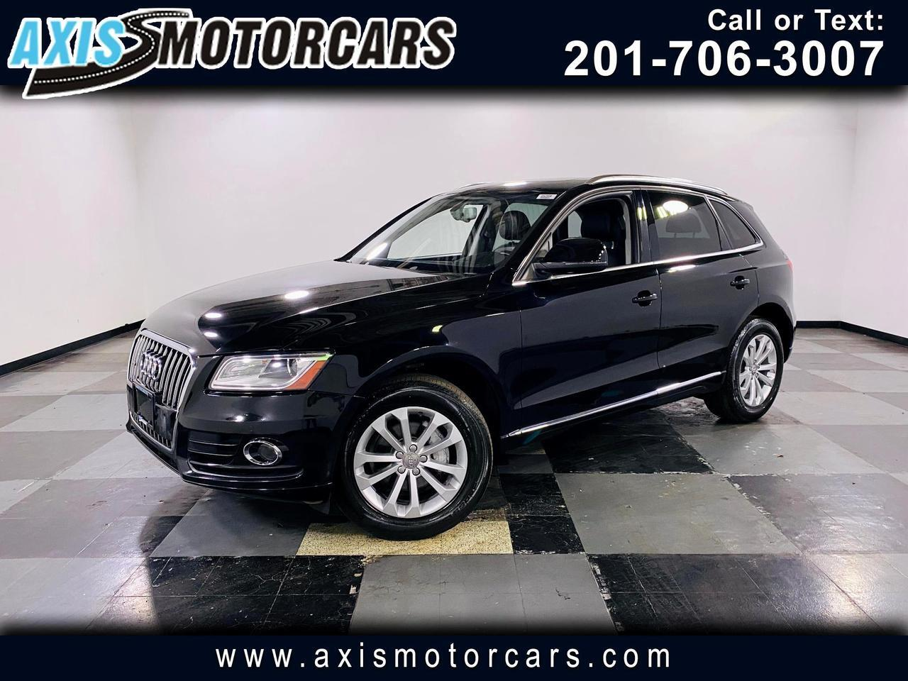 2014 Audi Q5 4dr quattro 2.0T w/Backup Camera Navigation Panora Jersey City NJ