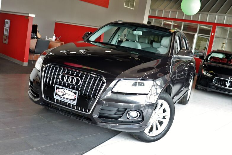 2014 Audi Q5 Premium Plus Navigation Package Audi Assist Panoramic Roof 1 Owner Springfield NJ