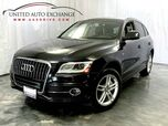2014 Audi Q5 Premium Plus S-line / 3.0L V6 Engine / AWD Quattro / Panoramic Sunroof / Navigation / Bluetooth / Parking Aid with Rear View Camera / Bang & Olufsen Premium Sound System / Push Start / Sport Interior Package