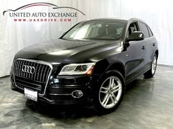 2014_Audi_Q5_Premium Plus S-line / 3.0L V6 Engine / AWD Quattro / Panoramic Sunroof / Navigation / Bluetooth / Parking Aid with Rear View Camera / Bang & Olufsen Premium Sound System / Push Start / Sport Interior Package_ Addison IL