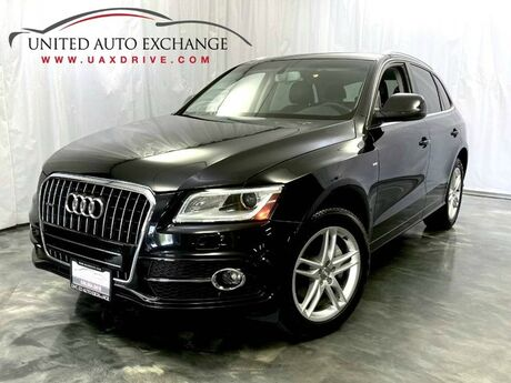 2014 Audi Q5 Premium Plus S-line / 3.0L V6 Engine / AWD Quattro / Panoramic Sunroof / Navigation / Bluetooth / Parking Aid with Rear View Camera / Bang & Olufsen Premium Sound System / Push Start / Sport Interior Package Addison IL