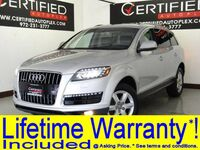 Audi Q7 3.0T QUATTRO SUPERCHARGED PREMIUM NAVIGATION PLUS PKG COLD WEATHER PKG 2014