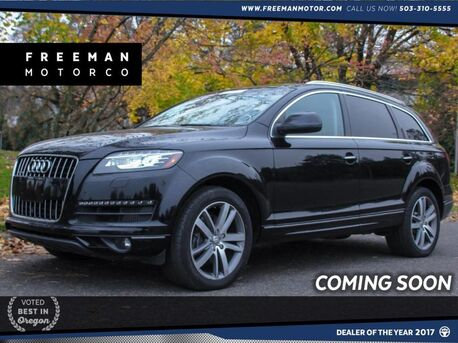 2014_Audi_Q7_TDI Prestige Quattro Tow Pkg Air Suspension_ Portland OR