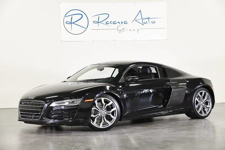 2014 Audi R8 V10 Carbon SideBlades Diamond Stitch Lthr The Colony TX
