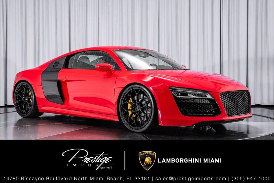 2014_Audi_R8_V10_ North Miami FL
