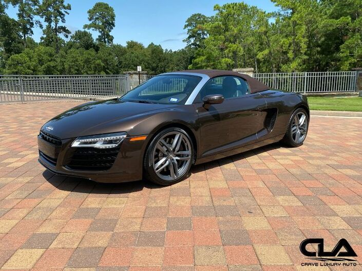 2014 Audi R8 V8 MANUAL The Woodlands TX