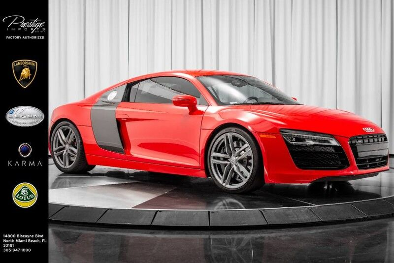 2014_Audi_R8_V8_ North Miami Beach FL