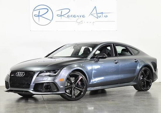 2014_Audi_RS 7_Prestige Carbon Optic Pkg B&O Sound Drvr Asst pkg_ The Colony TX