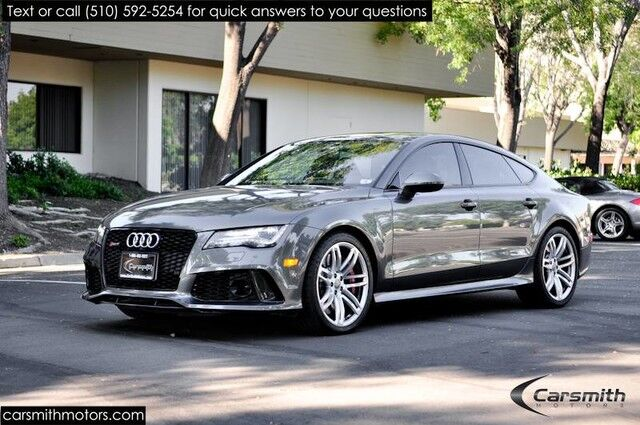 2014 Audi RS 7 Prestige Over $130k MSRP W/Options Rare Super Clean!!! Fremont CA