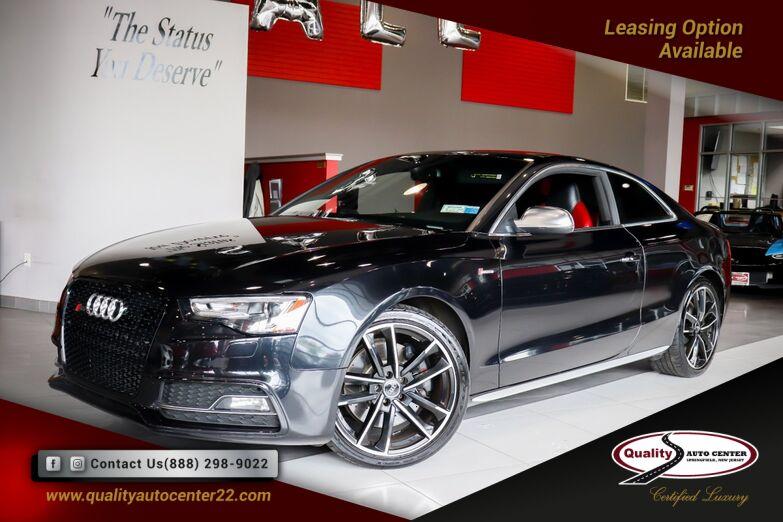 2014 Audi S5 Premium Plus Red Interior, Navigation Plus Pkg, Bang & Olufsen Sound 19'' Wheels Springfield NJ