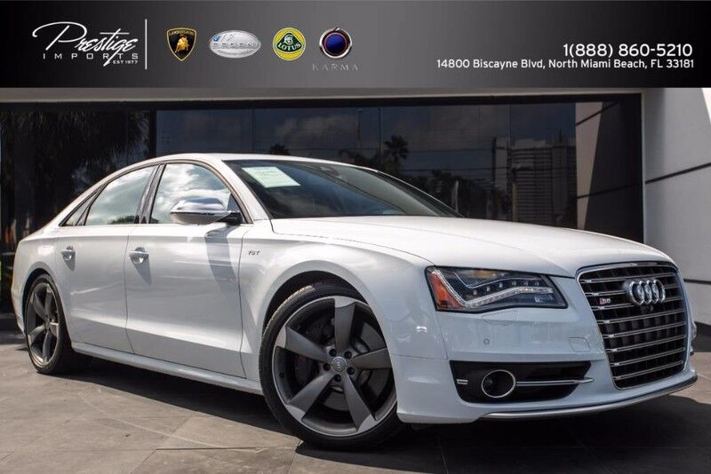 2014_Audi_S8__ North Miami Beach FL