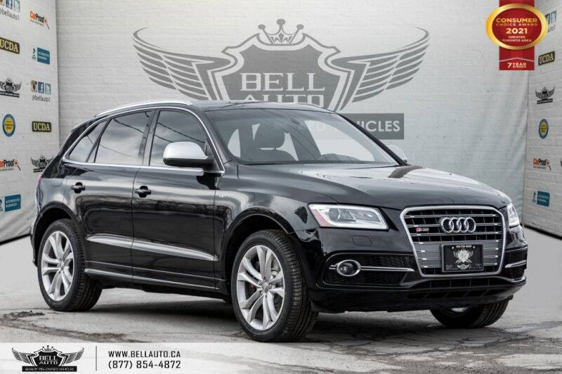 2014 Audi SQ5 3.0L Technik, AWD, RED INT, PANO, SENSOR, PARK ASST. Toronto ON