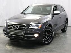 2014_Audi_SQ5_Prestige / 3.0L 354hp Supercharged Engine / Quattro AWD / Xenon Plus Adaptive Headlights / Thermo Cupholder / Bang & Olufsen Sound System / Navigation / Parking Sensors with Rearview Camera / Milano Leather Seats_ Addison IL