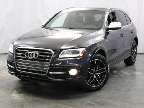 2014 Audi SQ5 Prestige / 3.0L 354hp Supercharged Engine / Quattro AWD / Xenon Plus Adaptive Headlights / Thermo Cupholder / Bang & Olufsen Sound System / Navigation / Parking Sensors with Rearview Camera / Milano Leather Seats / Ventilated Front Seats Addison IL